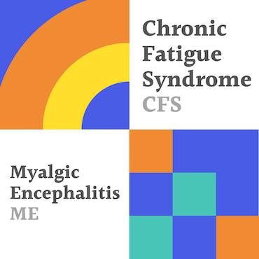 Chronisch vermoeidheidssyndroom vierkant